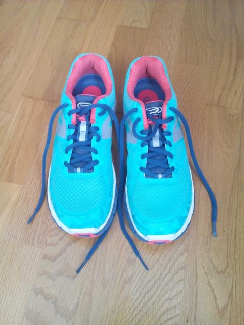 Mis zapatillas de principiante